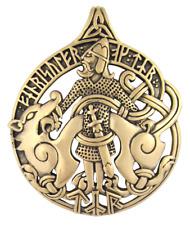 Bronze Tyr Pendant by Dryad Design - Asatru Norse Viking Runes Pagan Jewelry