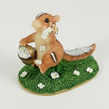 Charming Tails 82/105 Wedding Day Blossoms Chipmunk Flower Girl Figure Petals