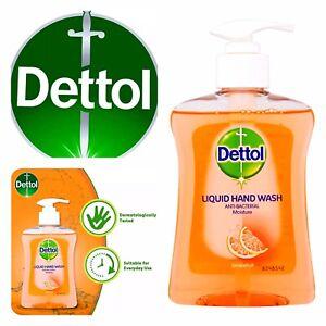dettol refill liquid hand wash Gel grapefruit Bottle Soap Moisture all in One UK