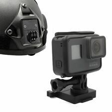 Aluminium fixe Casque Support pour GoPro Hero 6 5 4 3 3+ OPS FMA NVG Mount Base UK