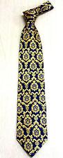 Korea Silk Tie luxury golden pattern of king High Quality