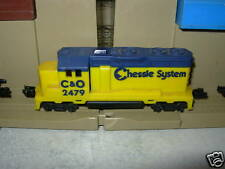 Hotwheels Railroad / Train Chessie System Engine