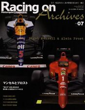 [BOOK] Racing on Archives vol.7 Nigel Mansell Alain Prost Ferrari 641/2 F1 Japan