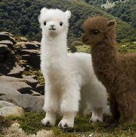 Kösener 5610 - Alpaka weiss 30 cm cm Kuscheltier Plüschtier Alpaca