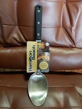 Brand New Hamilton Beach Triple Rivet Solid Stainless Big Spoon 90006