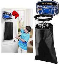Over The Door Laundry Basketball Hoop Net Hanging Basket Bedroom Slam Dunk Gift