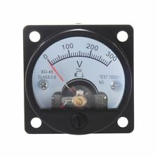 Analog Dial Ac Voltage Voltmeter Voltmeter Gauge Pointer Voltmeter Volt Tester
