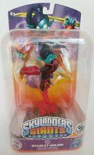 Activision Skylanders Giants Scarlet Ninjini Figure Trading Card Sticker Sheet