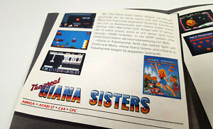🌈 Rainbow Arts / Giana Sisters / Katakis ~ Original C64 Amiga Software Poster