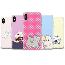 MOOMINS RETRO CARTOON PHONE CASE COVER FOR IPHONE 6 7 8 7+ 8+ X Xs Xr 11 Pro