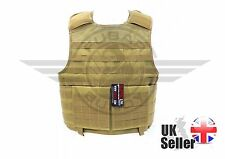 Nuprol PMC Plate Carrier Tan Airsoft Tactical Protection - SF SAS Seals