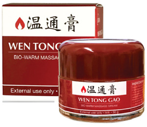 Wen Tong Gao Naturel Herbal Lekon Bio-Warm Massage Crème 樂康溫通膏