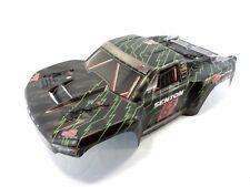 New Arrma Senton 6s BLX Painted Black Body With Wing Spoiler Body Clips Mega 4x4