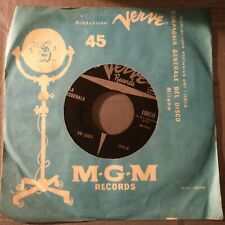 Ella Fitzgerald – Mack The Knife  45 giri Italian issue Verve Records VK 0101