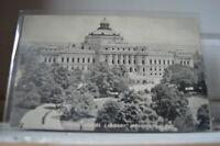 C 1910 Congressional Library - Washington DC Postcard