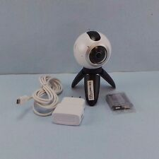 Samsung SM-C200 Gear 360 White Camera Used Good #malsan