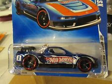Hot Wheels Acura Nsx Hot Wheels Racing Blue