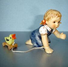 Hummel Goebel Just Ducky #2278 Girl Figurine TMK8 Danbury Mint Limited Edition