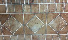 BACKSPLASH Sticker / Wall Decal 30 x 18 for Kitchen, BROWN TILES # 1