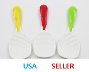 Portable Rice Spatula Paddle Ladle Spoon Kitchen Tools Supply JJ