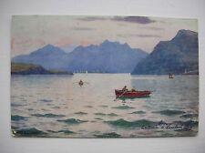 Lamlash Bay, Arran. Nr Brodick, Whiting Bay, Corrie  --  Tuck - Oilette - 1908.