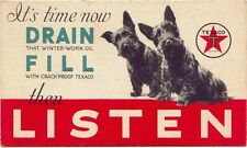 Scottish Terrier Texaco Oil Listen Refrigerator / Tool Box Magnet