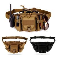 Poche tactique molle ceinture sac de taille sac militaire taille sac fanny pack