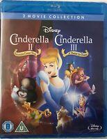 Cinderella 2 & 3 BD Retail [Blu-ray] [Region Free] -   The Fast Free US Shipping