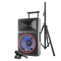 Altec Lansing ALP-L2200PK LIGHTNING 2200W Bluetooth Speaker with LED Light Show