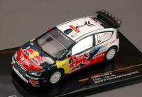 Model Car Rally Scale 1:43 Ixo Model diecast Citroen C4 WRC N.7 Winner P