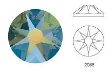 10x Swarovski® Crystals Flatback crystal iridescent green 2088 NoHF SS34 7mm