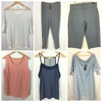 Womens Size 12 Bulk Lot Casual Top Western Winter Comfort Cami Pants #W350