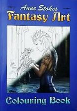 ANNE STOKES Colouring Book Fantasy Art Dragon Fairy Adult Therapy