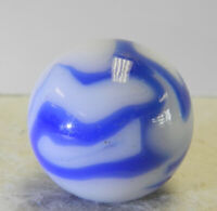 #12870m Vintage Alley Agate Shooter Marble .98 Inches
