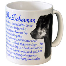 Doberman Pinscher- Ceramic Coffee Mug - Dog Origins Breed