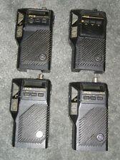 LOT OF 4 GE PCS VHF handheld portable two-way radio 150-174 MHZ WORKING