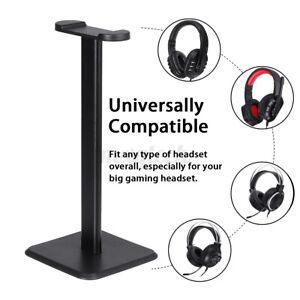 Gaming Headset Holder Anti-Slip Earphone Hanger Headphones Stand