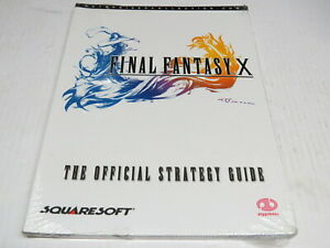 Final Fantasy X 10 Authorised Collection The Official Strategy Guide Book NEW
