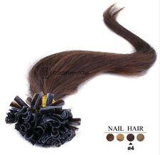 50/100/150/200 Extensions De Cheveux Pose A Chaud Naturels Remy 49-60CM 0,5G-1G
