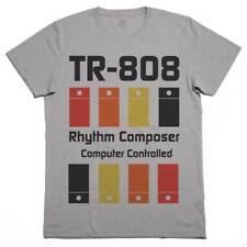 T-Shirt TR 808, Maglietta Drum Machine, Dj, Musica House Techno Elettronica G