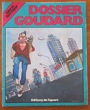 ANCIENNE BD DOSSIER GOUDARD GIBRAT BERROYER 1980
