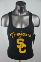 USC Tank Top Black/Yellow/Red Racer Cut Women's Size S-XL New with Tags