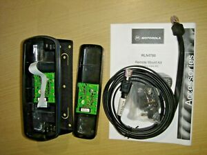 Motorola GM380 GM1280 (RLN4780A variant) remote mount kit and RKN4077A 3m cable