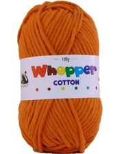 Cygnet Whopper Cotton Super Chunky Knitting Yarn 100g - 8 Shades Available Tangerine 656