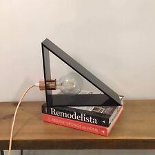 RARE Professional Design TRIANGLE LAMP Geometric Minimal Desk Mid Century Modern