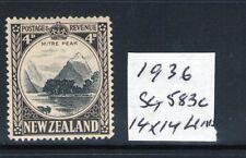 NEW ZEALAND 1941 SG583c 14x14 Line? perfs lightly hinged