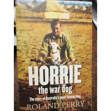 Horrie The War Dog with 1st Machine Gun Battalion WW2 book