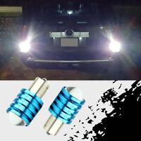 2 x Q5 LED 12V White 1156 BA15S P21W High Power Auto Car Bulb Reverse Light Lamp
