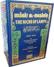 Mishkat-ul-Masabih: The Niche of Lamps - 4 Vols. Arabic / English