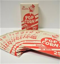 12 Vintage MR. DEE-LISH Popcorn Boxes New Old Stock